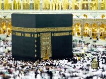 Makkah   kaabah omrah prayers Stock Photography