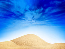 Sun dunes Stock Photography