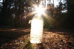 Sun e água Fotos de Stock Royalty Free