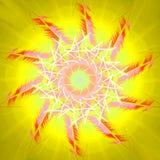 Sun e calore di estate Fotografia Stock Libera da Diritti