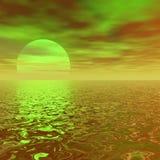 Sun e cielo illustrazione vettoriale