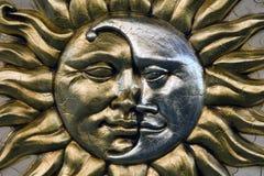 Sun e dia Fotografia de Stock