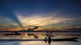 Sun e mar Foto de Stock
