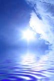 Sun e nuvens Fotos de Stock