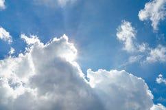 Sun e nuvola Immagine Stock Libera da Diritti