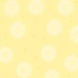 Sun e pontos Imagem de Stock