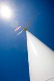 Sun e vento Fotografia Stock