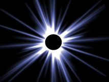 Sun eclipse Stock Photography