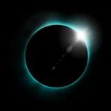 Sun eclipse stock illustration