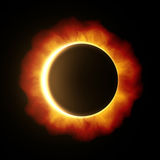 Sun eclipse Stock Image
