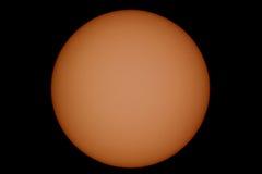 The Sun in een dichte blik royalty-vrije stock foto's