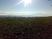 Sun en Autriche Photo stock