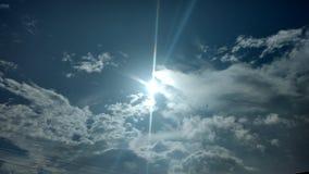 Sun en el cielo Fotos de archivo