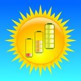 Sun-Energie Lizenzfreie Stockfotografie
