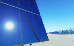 Sun-Energie #3 Stockbild