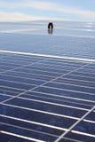 Sun-Energie in der Hand Lizenzfreie Stockfotografie
