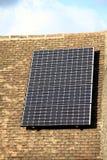 Sun-Energie in der Hand Lizenzfreie Stockbilder