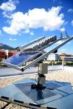 Sun-Energie in der Hand Lizenzfreies Stockbild