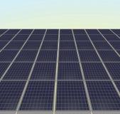 Sun-Energie in der Hand Auch im corel abgehobenen Betrag Lizenzfreie Stockbilder