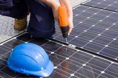 Sun energy Stock Images
