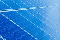 Sun energy collector panel stock photography