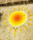 Sun está por todas partes Foto de archivo libre de regalías