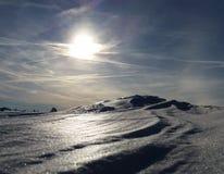Sun et ciel Images libres de droits