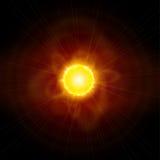 Sun et espace illustration libre de droits