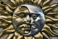 Sun et jour Photographie stock