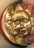 Sun et lune de Venise Photographie stock
