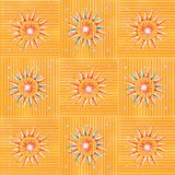 Sun et nuit Photographie stock