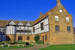 Sun et ombre à travers Gainsborough vieux Hall 9, dans Gainsborough, le Lincolnshire image libre de droits