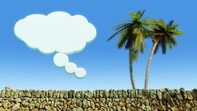 Sun et paysage de plage Photographie stock libre de droits