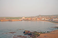 Sun on eyemouth Stock Photography