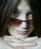 sun för 2 glasögon Arkivbild