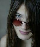 sun för 3 glasögon Arkivfoton