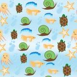 sun för hav för bakgrundsfiordsstråle Royaltyfri Bild