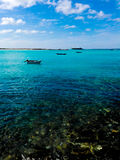 sun för hav för bakgrundsfiordsstråle Fotografering för Bildbyråer