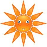 sun för sommar för illustrationsäsongleende Arkivbild
