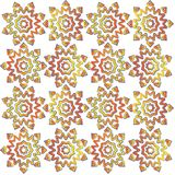 Sun fabric pattern Stock Photos