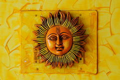 Sun face Stock Photography