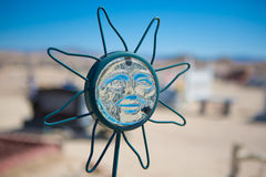 Sun face Royalty Free Stock Images