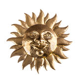 Sun face Royalty Free Stock Image