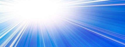 Sun-Fahne Lizenzfreie Stockfotos
