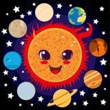 Sun feliz Foto de Stock