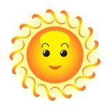 Sun feliz ilustración del vector