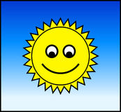 Sun feliz Fotos de Stock Royalty Free