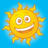 Sun feliz Imágenes de archivo libres de regalías
