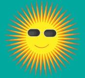 Sun-Ferien Stock Abbildung