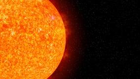 Sun on Fire (HD Animation Loop) Stock Photo